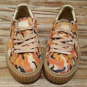 Puma Fenty camo platform sneakers
